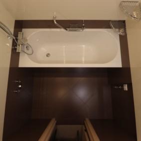 раздельная ванная комната фото дизайна