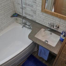раздельная ванная комната фото варианты