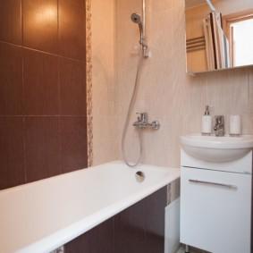 раздельная ванная комната идеи