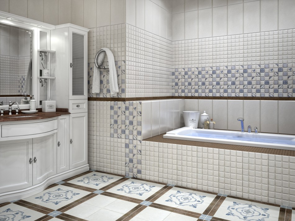 раздельная ванная комната идеи декор