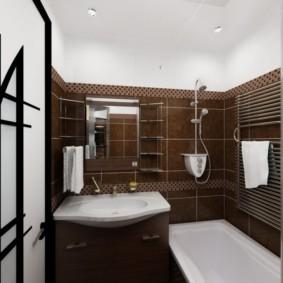 раздельная ванная комната идеи дизайн