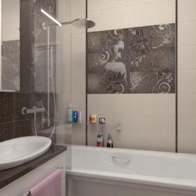 раздельная ванная комната идеи фото