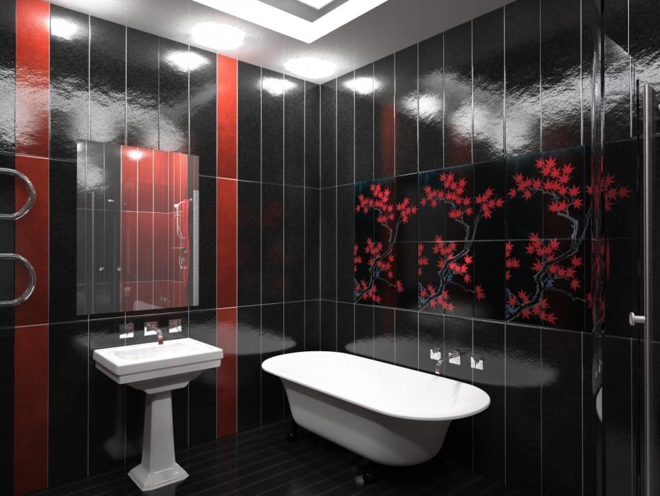 раздельная ванная комната идеи интерьер