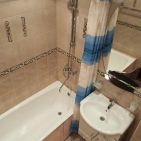 раздельная ванная комната идеи оформления
