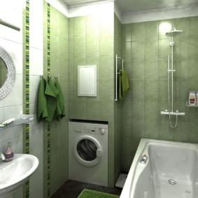 раздельная ванная комната идеи варианты