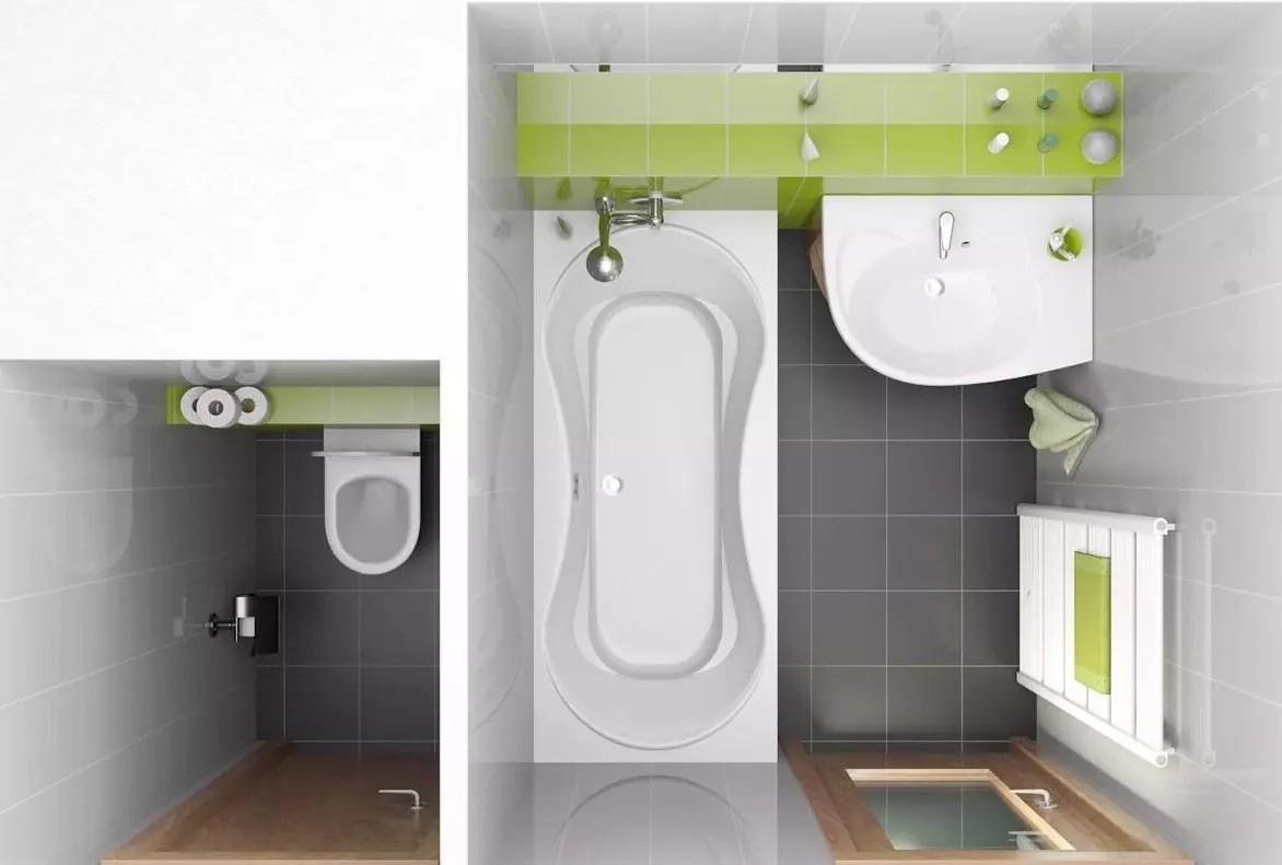 раздельная ванная комната идеи видов
