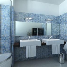 раздельная ванная комната интерьер идеи