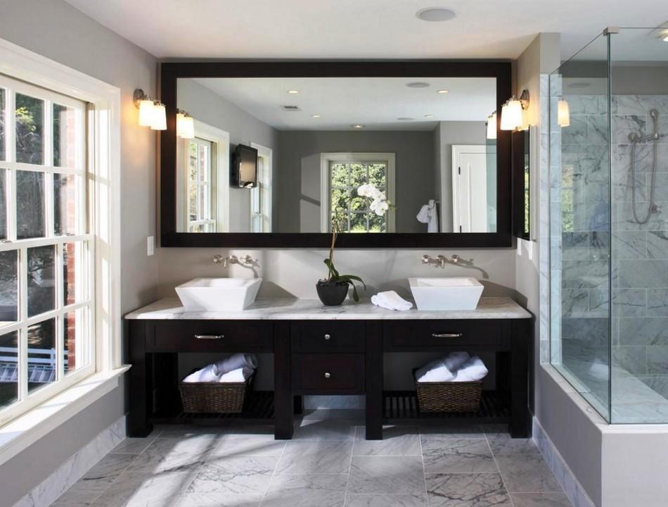 раздельная ванная комната оформление идеи