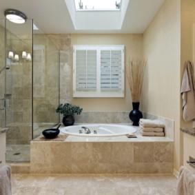 раздельная ванная комната варианты
