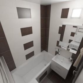 раздельная ванная комната виды
