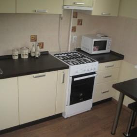 размещение микроволновки на кухне фото обзоры
