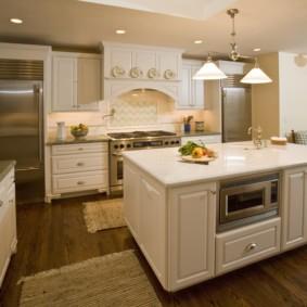 размещение микроволновки на кухне идеи фото