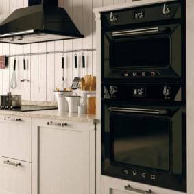 размещение микроволновки на кухне идеи обзор