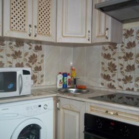 размещение микроволновки на кухне обзор фото