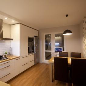 размещение микроволновки на кухне обзор идеи