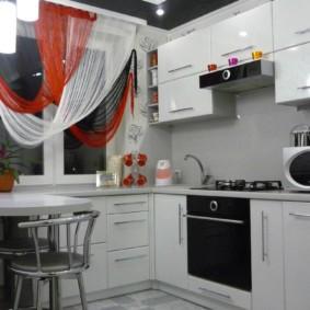 размещение микроволновки на кухне оформление идеи