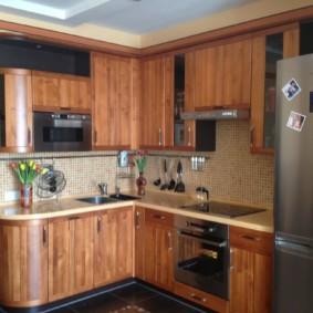 размещение микроволновки на кухне варианты