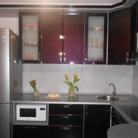 размещение микроволновки на кухне варианты фото