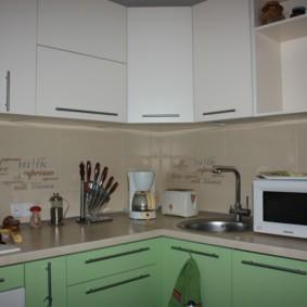 размещение микроволновки на кухне виды
