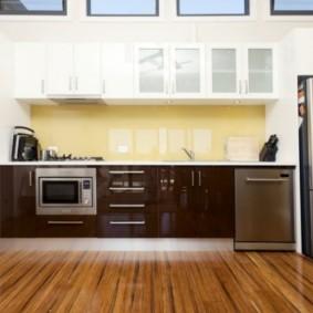 размещение микроволновки на кухне виды оформления
