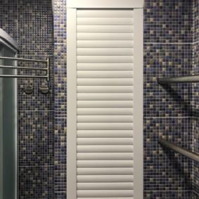 рольставни в туалет фото декор