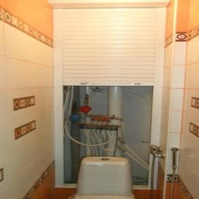 рольставни в туалет фото декора