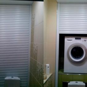рольставни в туалет фото идеи