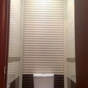 рольставни в туалет фото оформления