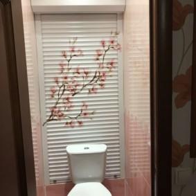 рольставни в туалет фото виды