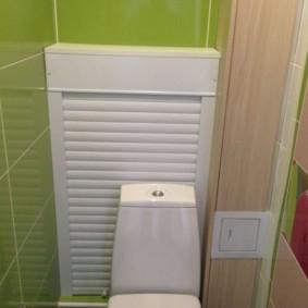 рольставни в туалет идеи декора