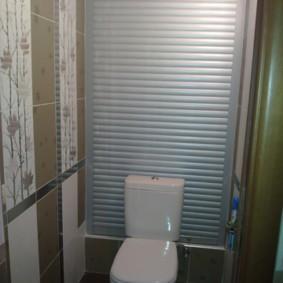 рольставни в туалет идеи дизайн
