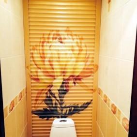 рольставни в туалет идеи видов