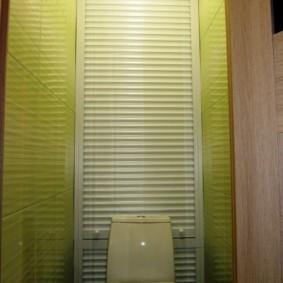 рольставни в туалет варианты идеи