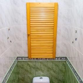 рольставни в туалет виды интерьера