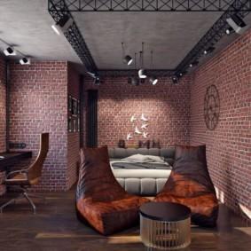 лофт в квартире дизайн