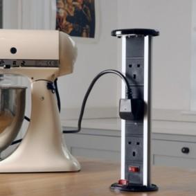 розетки на современной кухне фото интерьера