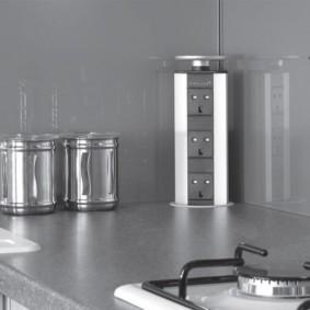 розетки на современной кухне виды фото