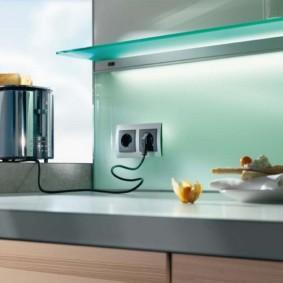 розетки на современной кухне виды идеи