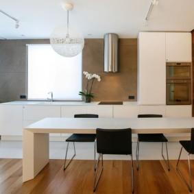 рулонные шторы на кухне виды фото