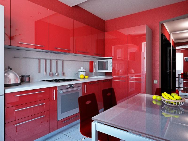 шкафчики до потолка на кухне
