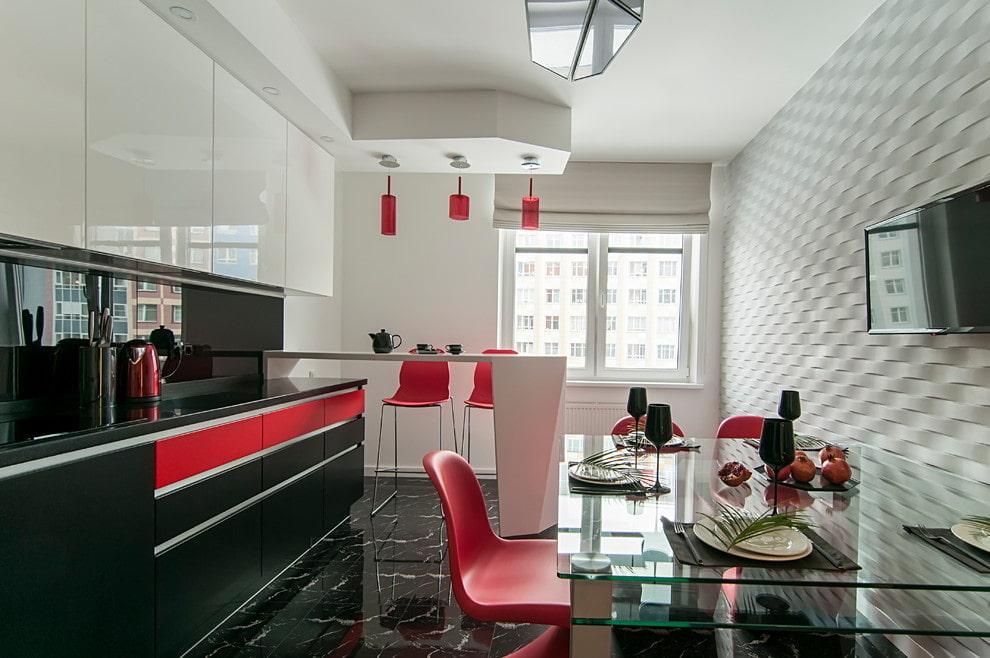 шкафы на кухне д потолка