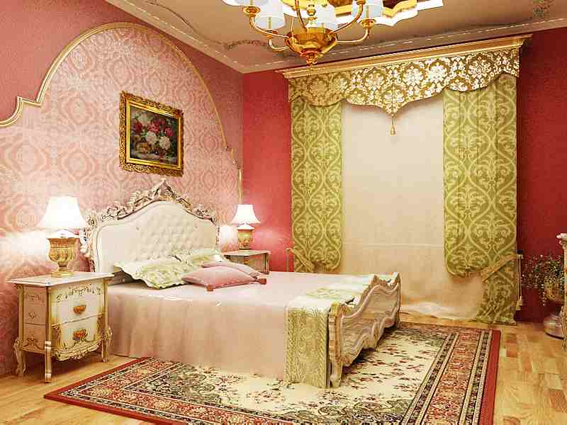 Спальня для девушки в восточном стиле