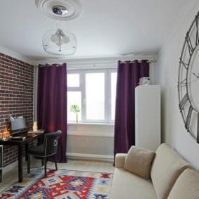 шторы в гостиной идеи декор
