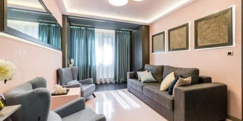 шторы в гостиной интерьер фото