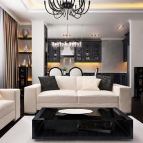 шторы в гостиной интерьер идеи