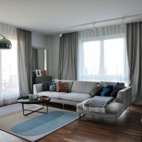 шторы в гостиной фото варианты