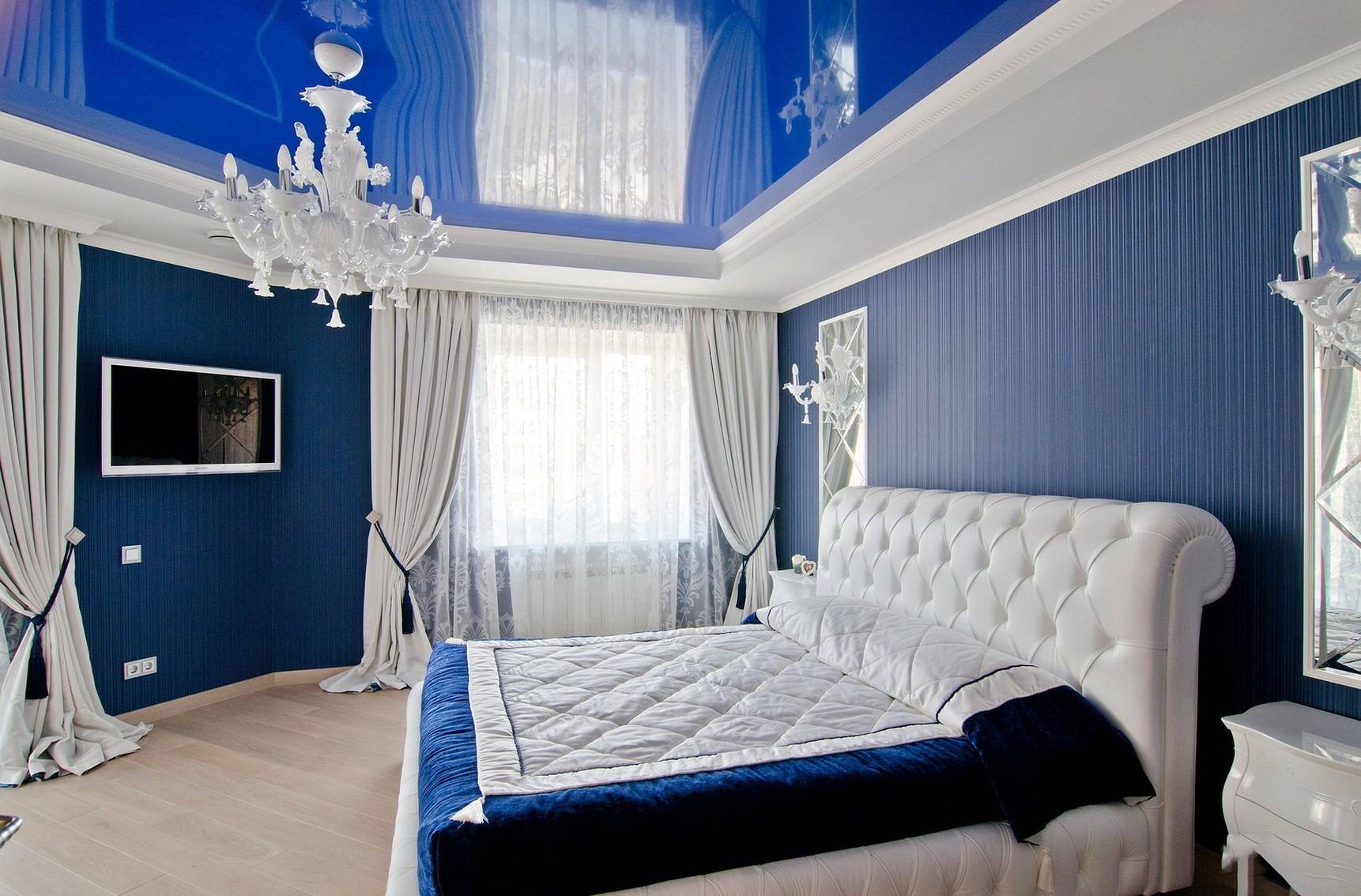 картинки спален в синих тонах захотелось поделиться этой