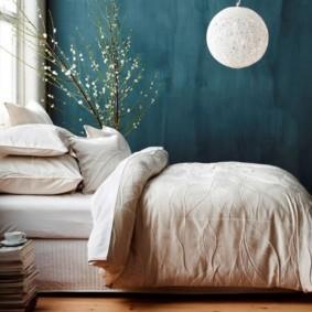 синяя спальня варианты