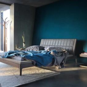 синяя спальня виды фото