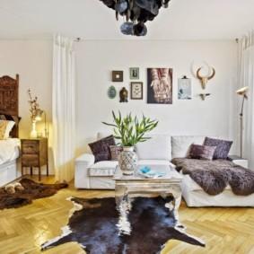 скандинавский стиль в гостиной фото оформление